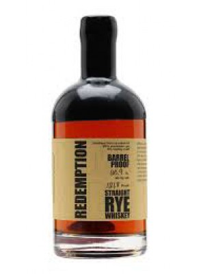 Redemption Straight Rye 7yr Barrel Proof 61.3% ABV 750ml